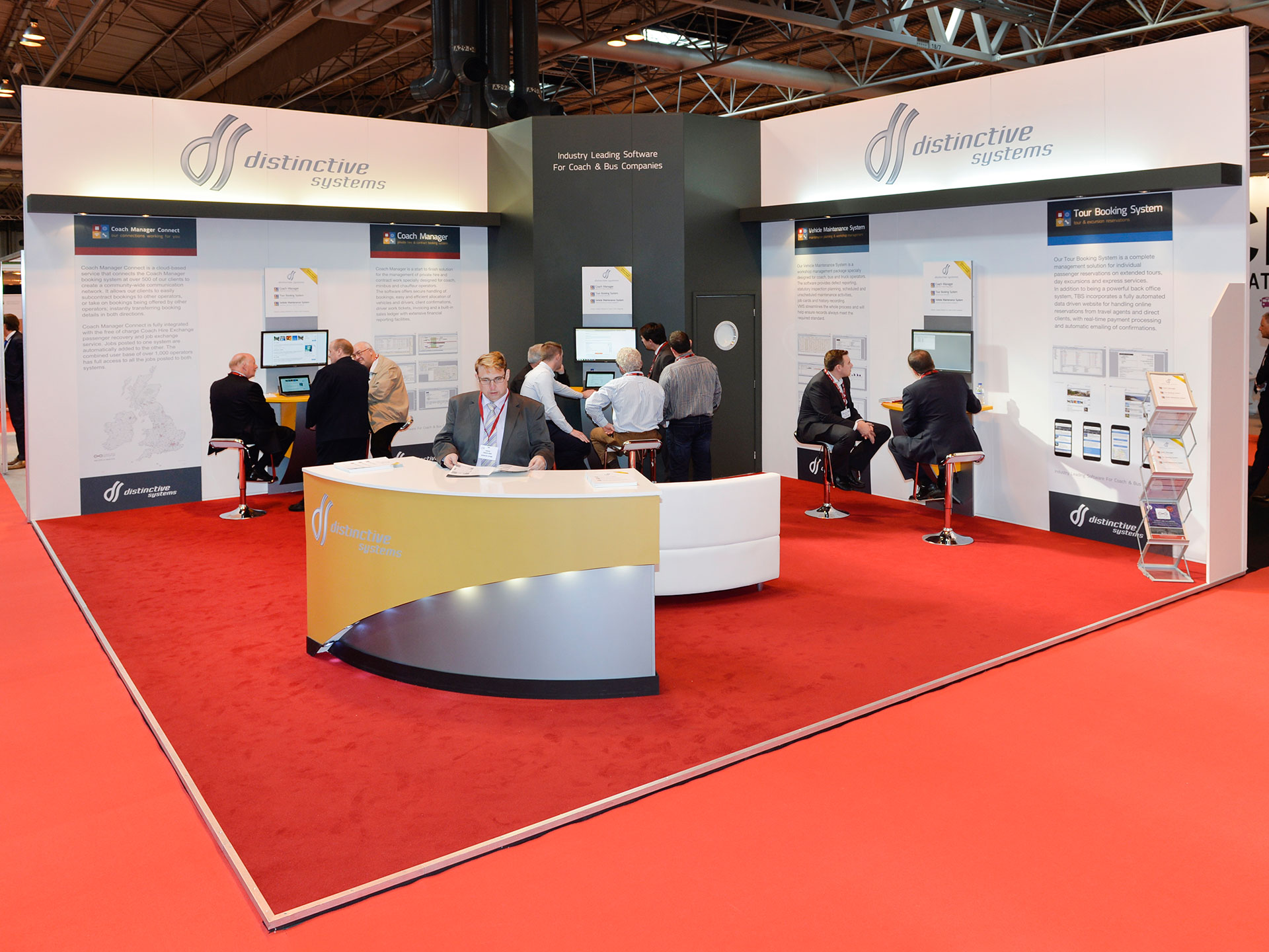 Distinctive Systems at Coach & Bus Live 2015
