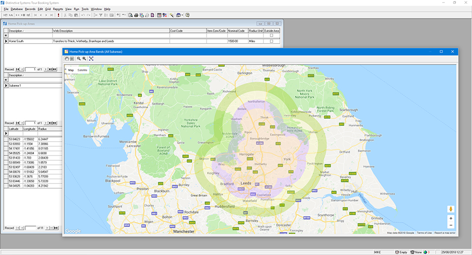 Distinctive Systems Tour Booking System - Coach Travel Booking Software