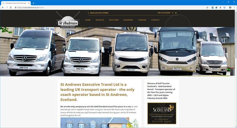 St Andrews Executive Travel