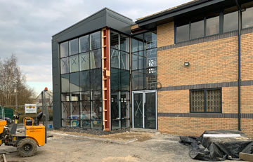 New Client Training Centre Approaching Completion